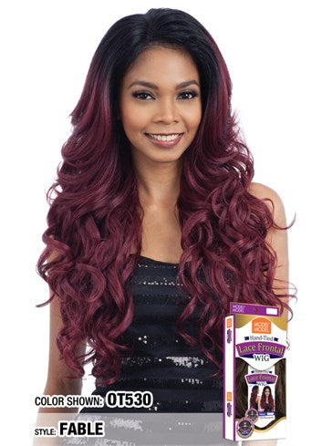 "Model Model Hand Tied 13""x4"" Lace Frontal Wig - Fable - Beauty Empire"