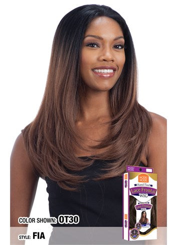 "Model Model Hand Tied 13""X4"" Lace Front Wig - Fia - Beauty Empire"