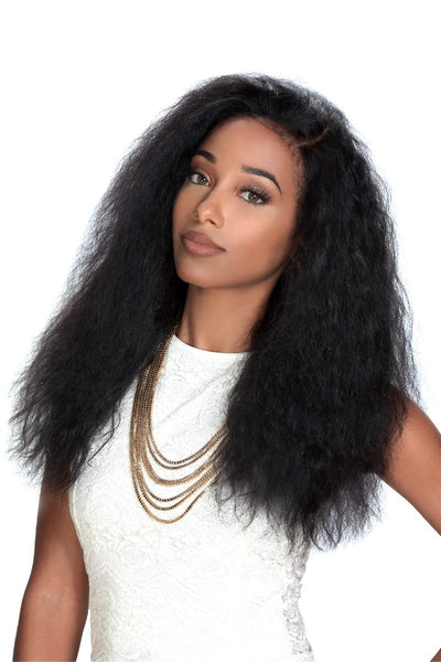 "Zury Sis 100% Virgin Brazilian Remy 13""x4"" Lace Front Wig - Libra - Beauty Empire"