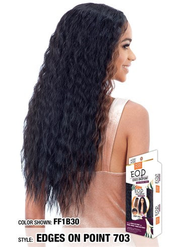 Model Model Edges On Point Lace Front Wig - 703