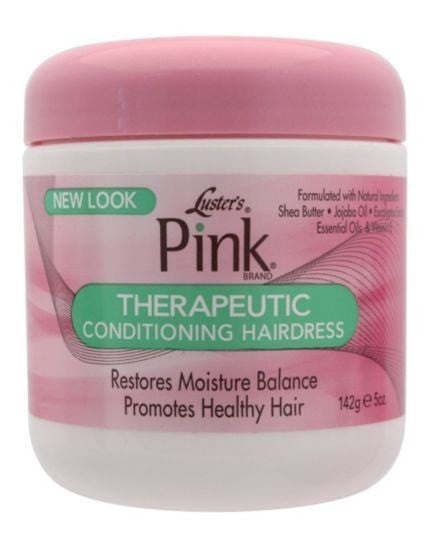 Luster's Pink Therapeutic Conditioning Hairdress (5 oz) - Beauty Empire