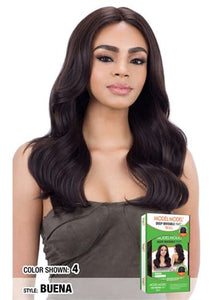 Model Model Deep Invisible L Part Lace Wig - Buena - Beauty Empire