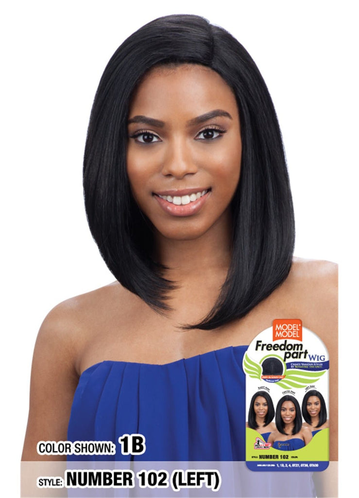 Model Model Freedom Part Wig - Free Part Number 102