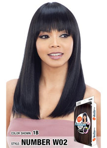 Model Model Freedom Synthetic Wig - Number W02