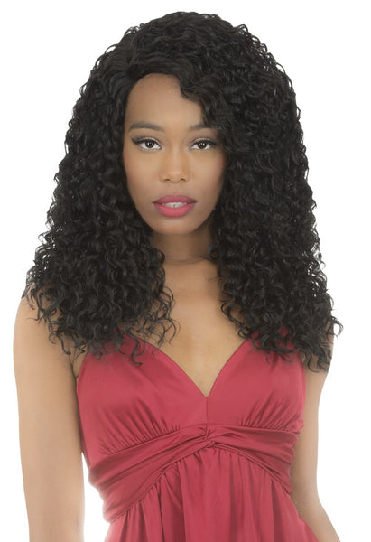New Born Free Magic Curved Lace Front Wig - MLC181 - Beauty Empire