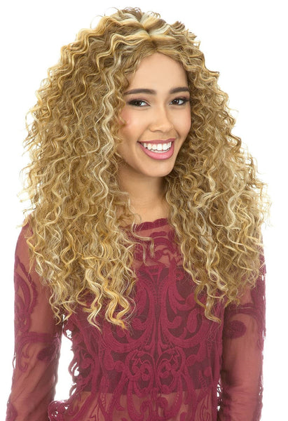 New Born Free Magic Curved Lace Front Wig - MLC193 - Beauty Empire