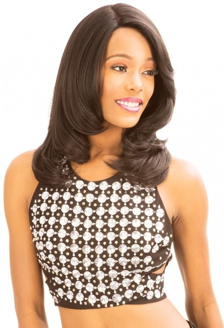 New Born Free Magic Lace Human Blend Lace Front Wig - MLU93 - Beauty EmpireChade