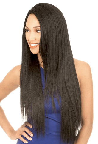 New Born Free Magic Lace Human Hair Lace Front Wig - MLUH98