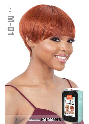 Model Model Mint Synthetic Wig - M01