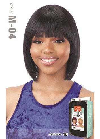 Model Model Mint Synthetic Wig - M04
