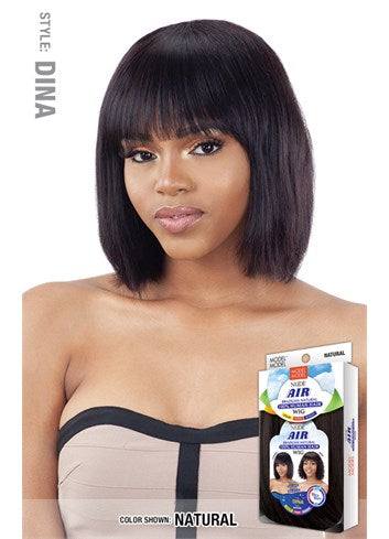 Model Model Nude Air 100% Human Hair Wig - Dina