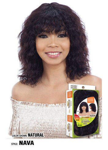 Model Model Nude 100% Brazilian Human Hair Wig - Nava - Beauty Empire