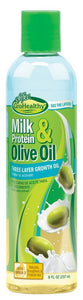 Sofn'Free GroHealthy Milk Protein & Olive Oil 3-Layer Growth Oil (8 Oz) - Beauty Empire