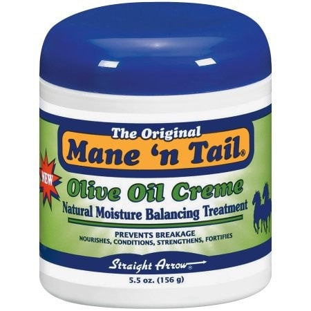 Mane 'n Tail Olive Oil Creme Natural Moisture Balancing Treatment (5.5 oz) - Beauty Empire