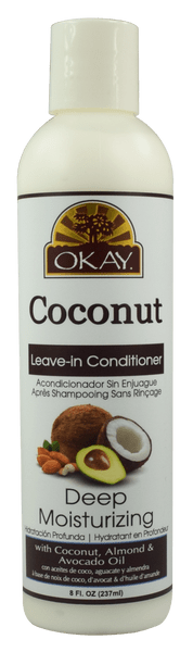 Okay Coconut Deep Moisturizing Leave-In Conditioner (8 Oz) - Beauty Empire