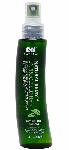 On Natural Natural Remy Unprocessed Hair Essence (4.5 Oz) - Beauty Empire