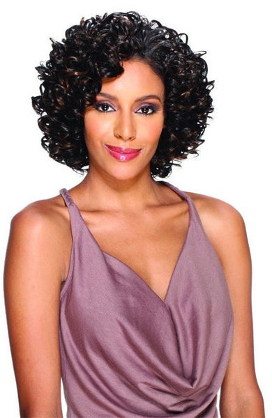Wet And Wavy Weave With Bang Hairstylegalleries Com