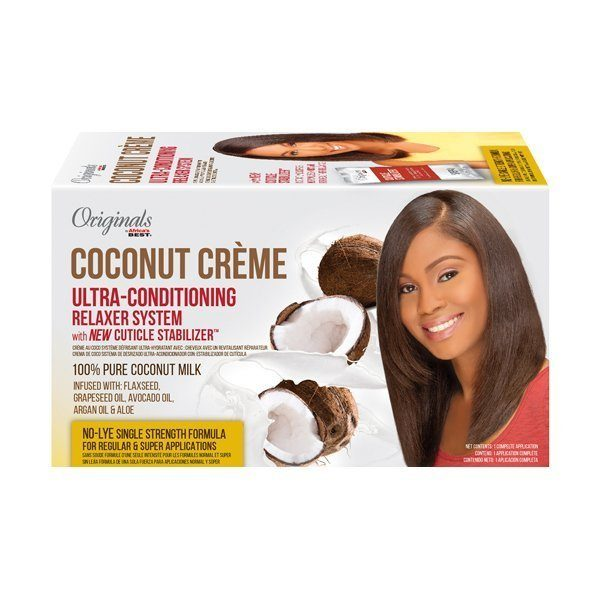 Africa's Best Originals Coconut Creme Ultra-Conditioning Relaxer System