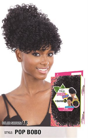 Freetress Equal Pony Pop Ponytail - Bang & Pony Pop Bobo - Beauty Empire