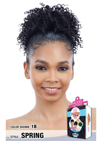 Model Model Pony Pom & Bang Ponytail - Spring - Beauty Empire