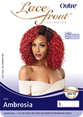 Outre Synthetic Swiss 5 Inch L-Part Lace Front Wig - Ambrosia - Beauty Empire