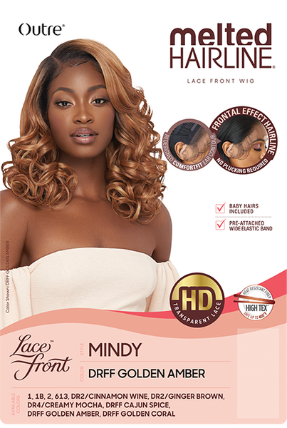 Outre Melted Hairline HD Synthetic Lace Front Wig - Mindy