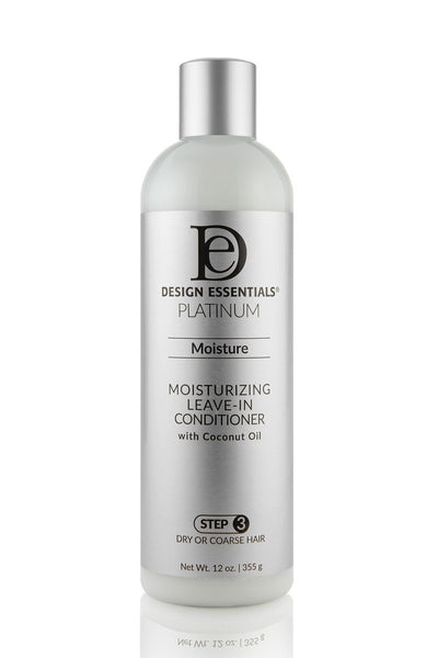 Design Essentials Platinum Moisturizing Leave-In Conditioner - Step 3 - 12oz