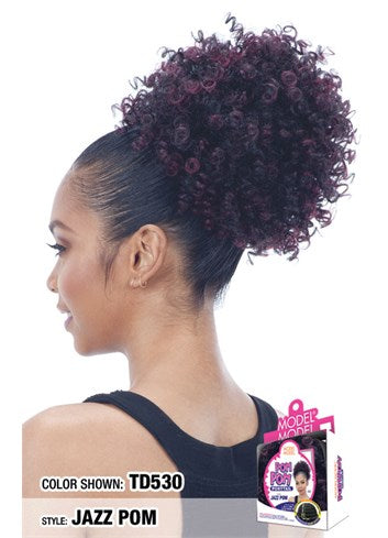Model Model Pom Pom Ponytail - Jazz Pom - Beauty Empire