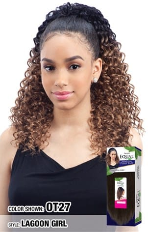 Freetress Equal Drawstring Ponytail - Lagoon Girl - Beauty Empire