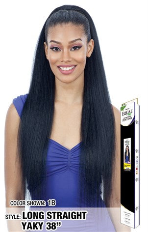Freetress Equal Drawstring Ponytail - Long Straight Yaky 38 Inches - Beauty Empire