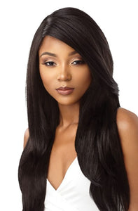 Outre &Play Human Hair Blend 360 Lace Front Wig - Natural Straight