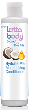 Lotta Body With Coconut & Shea Oils Hydrate Me Moisturizing Conditioner - 10.1oz