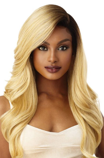 Outre Synthetic Swiss 5 Inch L-Part Lace Front Wig - Artemis - Beauty Empire