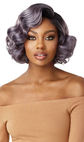 Outre Synthetic Swiss 5 Inch I-Part Lace Front Wig - Avery