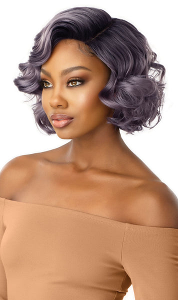 Outre Synthetic Swiss 5 Inch I-Part Lace Front Wig - Avery - Beauty Empire