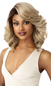 Outre Synthetic Swiss 5 Inch I-Part Lace Front Wig - Brandi