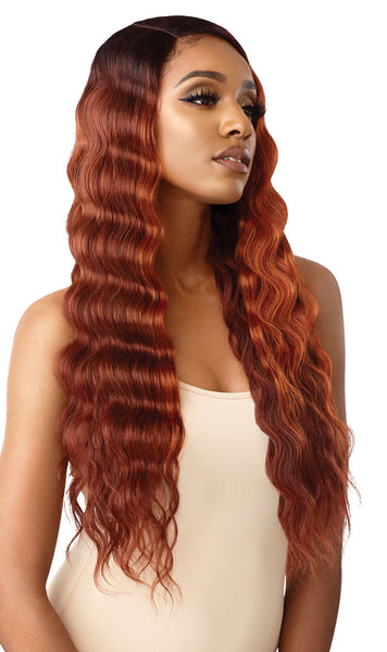 Outre Color Bomb Synthetic Lace Front Wig - Olina - Beauty Empire
