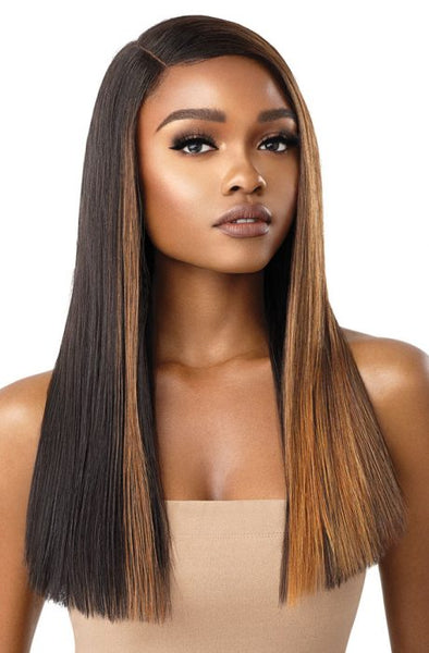 Outre Color Bomb Synthetic Lace Front Wig - Verona