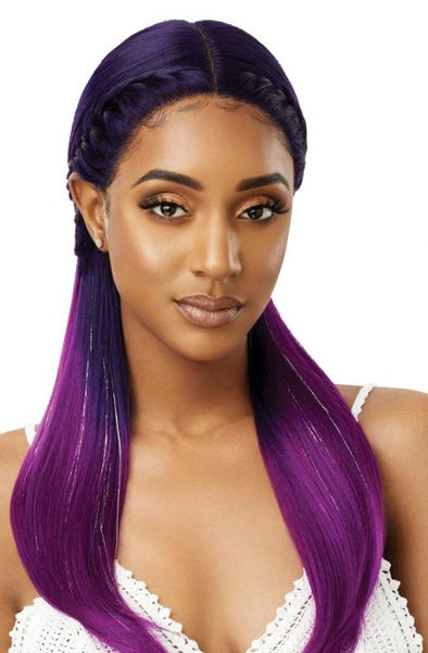 Outre Color Bomb Synthetic Lace Front Wig - Mystique