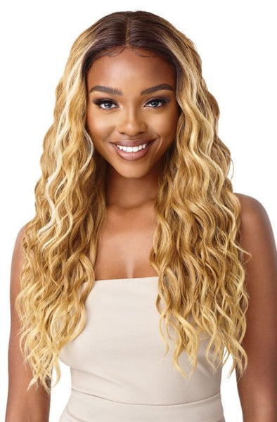 Outre Synthetic Swiss I-Part Synthetic Lace Front Wig - Cyndra - Beauty Empire