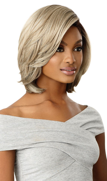 Outre Synthetic Swiss 5 Inch L-Part Lace Front Wig - Dakota - Beauty Empire