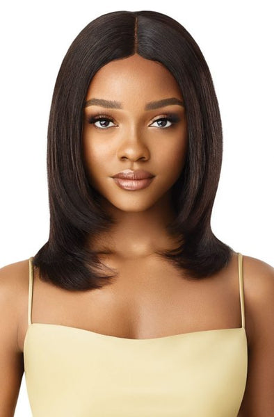 Outre My Tresses Gold Label 100% Unprocessed Human HD Lace Front Wig - Ayanna