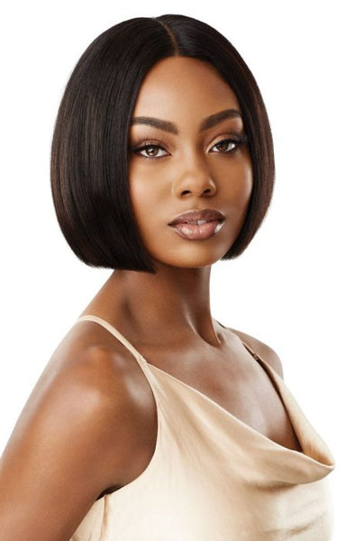 Outre My Tresses Gold Label 100% Unprocessed Human HD Lace Front Wig - Ravina