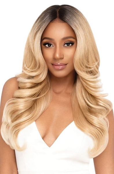 Outre Perfect Hairline 13X6 Hand-Tied HD Synthetic Lace Front Wig - Geneva