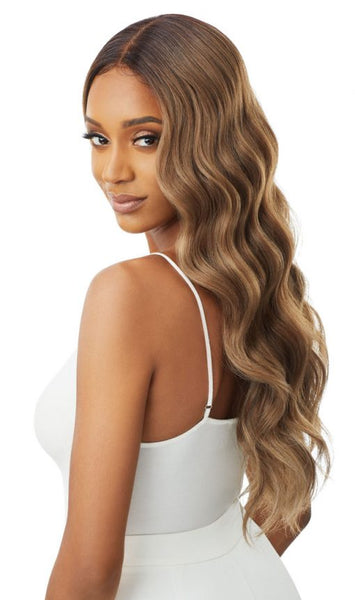 Outre Sleeklay Part Synthetic Lace Front Wig - Idina