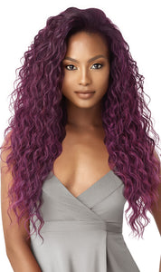 Outre Quick Weave Synthetic Half Wig - Briyanna