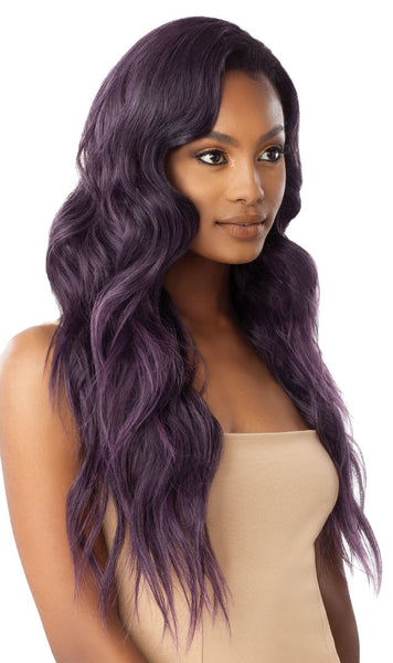 Outre Quick Weave Synthetic Half Wig - Jazzy