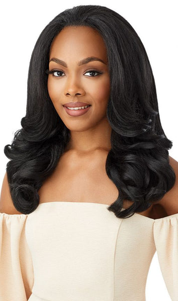 Outre Quick Weave Synthetic Half Wig - Neesha H301