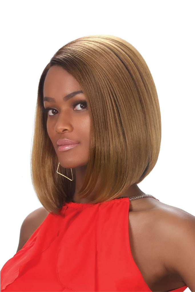 Zury Sis Prime Collection Mixed Blend Lace Front Wig - Rime