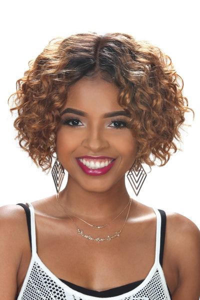 Zury Sis Naturali Star Pre-Tweezed Part Human Hair Wig - 3A Roxy